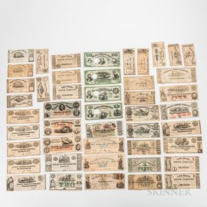 Large Group of Southern States Notes