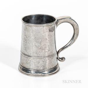 Samuel Hamlin Pewter Quart Mug