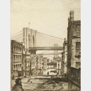 John Taylor Arms (American, 1887-1953)  Cobwebs