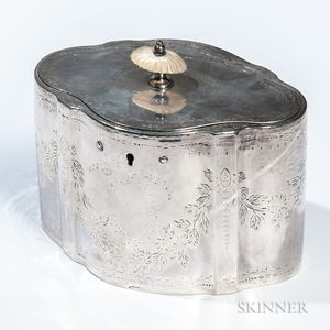 George III Sterling Silver Tea Cannister