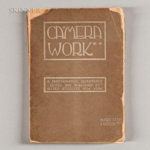 Alfred Stieglitz (American, 1864-1946)      Camera Work, Number 36