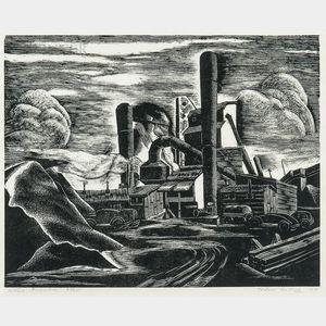 Todros Geller (Russian/American, 1889-1949)    Stone Crusher