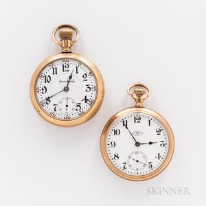 Two American Open-face Watches