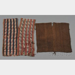 Two Pre-Columbian Textile Tunics