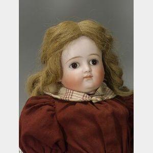 Kestner Closed Mouth Turned Shoulder Head Doll