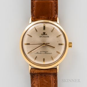 """LeCoultre 14kt Gold """"Master Mariner"""" Wristwatch"""