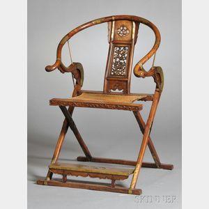 Huanghuali Folding Armchair