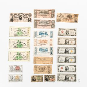 Group of American Paper Money