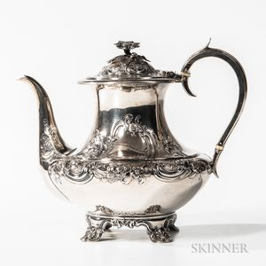 William IV Sterling Silver Coffeepot