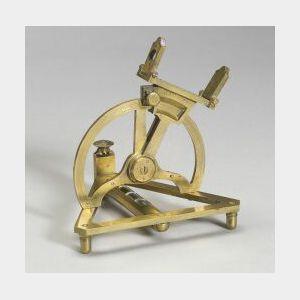 Miniature Brass Altitude Theodolite