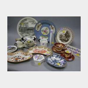 Twenty-two Assorted Wedgwood Ceramic Items