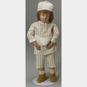 Schoenhut Child Doll