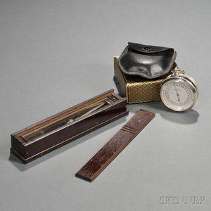 Trough Compass and a Sundo Pocket Barometer