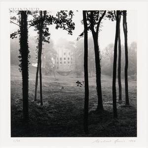 Michael Kenna (British, b. 1953)      Le Désert de Retz, Study 37, France