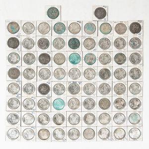 Group of Morgan Dollars