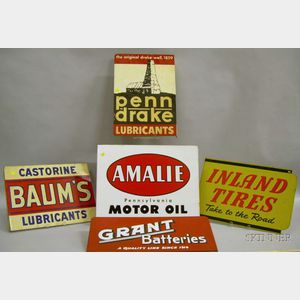 Five Auto Related Signs