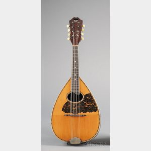 American Mandolin, Larson Brothers for William C. Stahl, Milwaukee, c. 1915