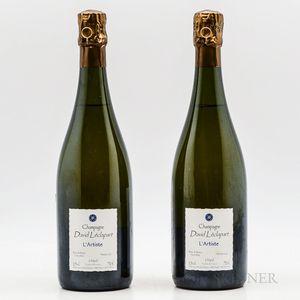 David LEclapart LArtiste Blanc de Blancs Extra Brut NV, 2 bottles