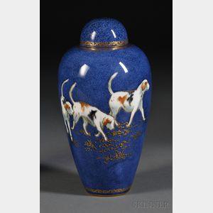 Wedgwood Powder Blue Bone China Malfrey Pot and Cover
