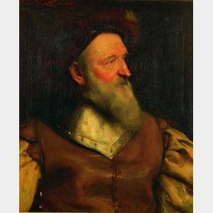 Frank Samuel Eastman (British, 1878-1964)    An Elizabethan