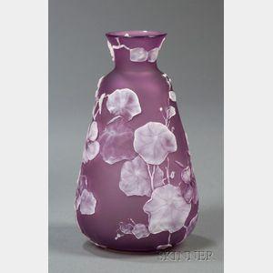 Stevens & Williams Vase