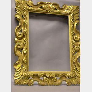 Continental Giltwood Mirror.