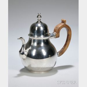 Gorham Sterling Silver John Coney Historical Reproduction Teapot