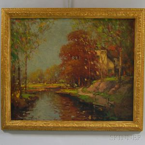 Franco-American School, 20th Century      Autumn Landscape