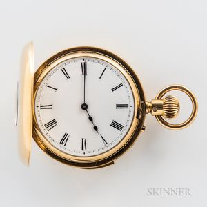 18kt Gold Demi-hunter Repeating Watch
