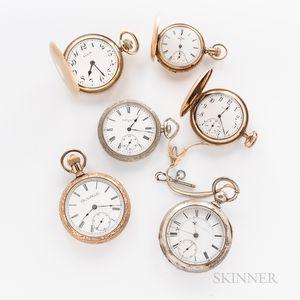 Six Elgin Watch Co. Watches