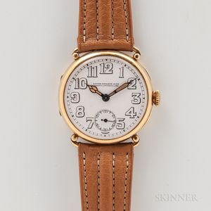 Patek Philippe & Co. 18kt Gold Trench-style Wristwatch
