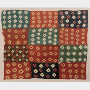 Hauri Tie-dyed Cloth Panel