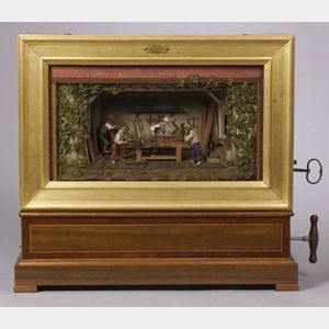 Exceptional Picture Automaton by Bremond