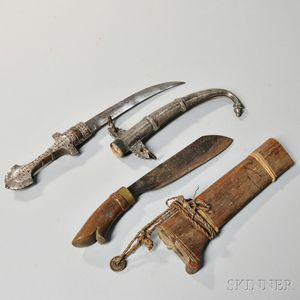 North African and Burmese Knives