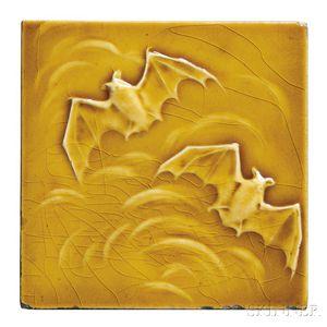American Encaustic Co. Bat Tile