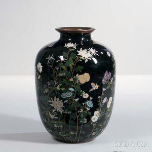 Large Cloisonne Jar