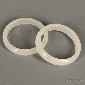 Pair of Jade Bracelets