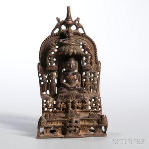 Bronze Jain Shrine