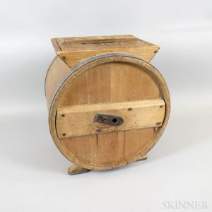 Cape Dutch Pine Butter Churn