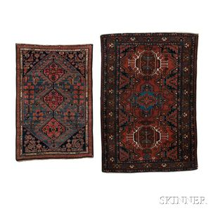 Two Small Persian Rugs