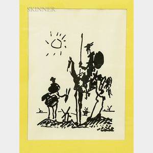 Two Framed Reproduction Prints:      Picasso: