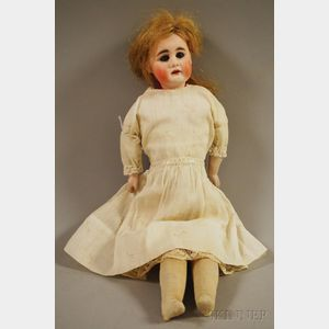 Swivel Neck Bisque Head Doll