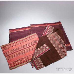 Three Aymara Textiles