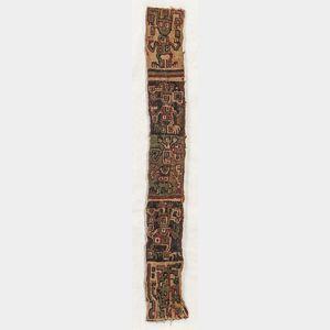 Pre-Columbian Textile Fragment