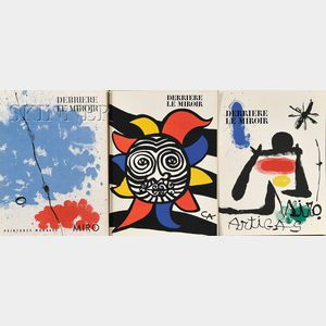 Galerie Maeght, editor (French, 20th Century)      Lot of Seven Issues of DERRIERE LE MIROIR