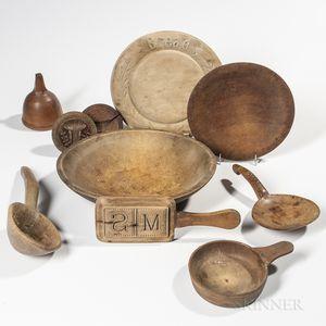 Ten Wood Kitchen Items