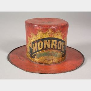 Paint Decorated Fireman's Parade Hat
