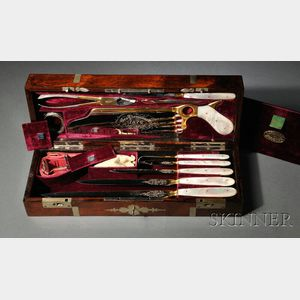 Sold for: $85,200 - George Tiemann and Company Exhibition Surgical Set