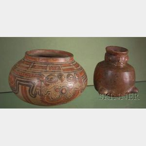 Two Pre-Columbian Pottery Bowls