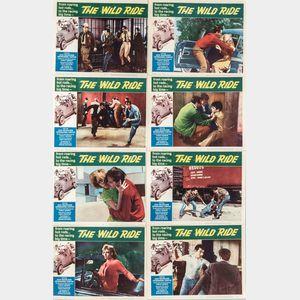 "Set of Eight ""The Wild Ride"" Movie Lobby Cards"